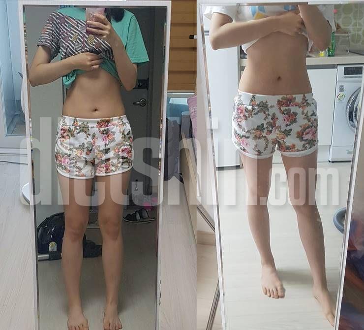1년동안 10kg 감량해, 워너비 몸매로 변신!