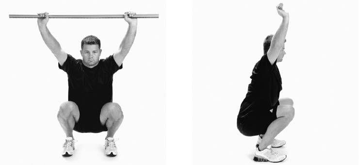 스쿼트할 때, 무릎이 발끝을 넘어가도 될까?
