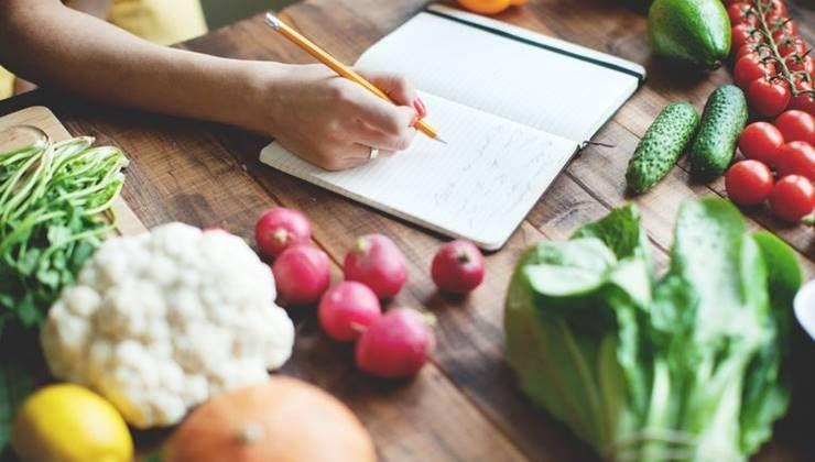 기록하면 살 빼는데 도움이 되는 `식사일기`!