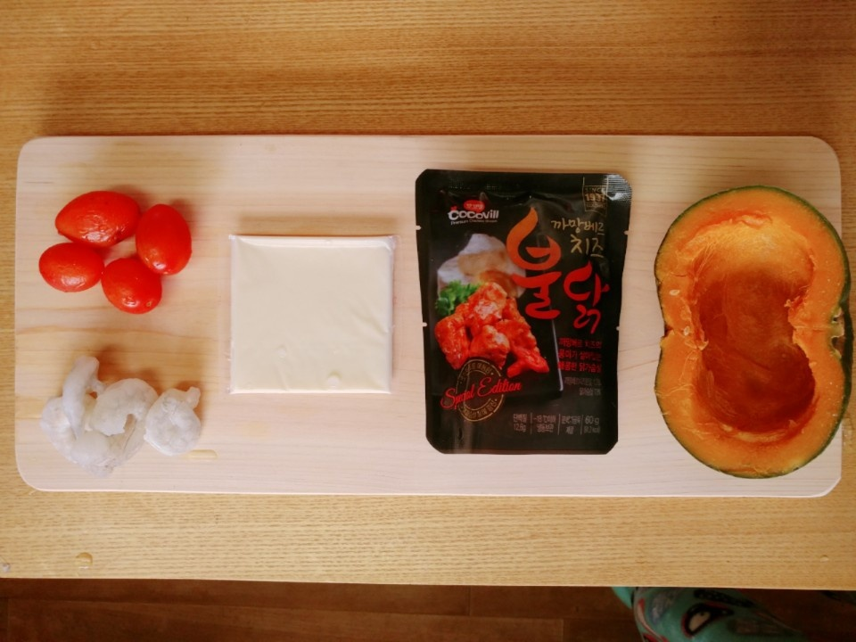 [공모전4] 단호박 닭가슴살 치즈그라탕