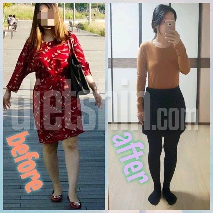 체지방 2kg, 체중 5kg 감량! 4주만의 변화!
