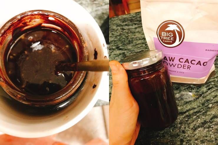 열에 가하지 않고 만드는 `로푸드 초콜릿`!