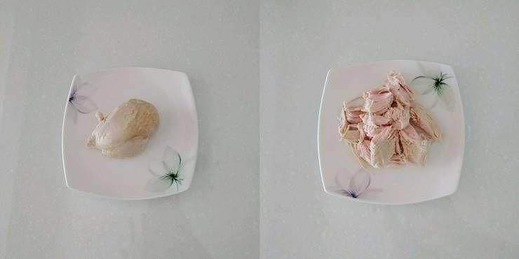 3분 안에 만드는 `닭가슴살 퀘사디아`!