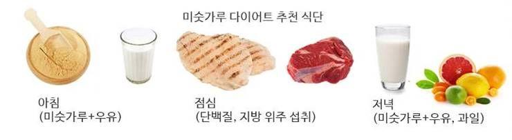 성유리 다이어트 식단 (미숫가루)