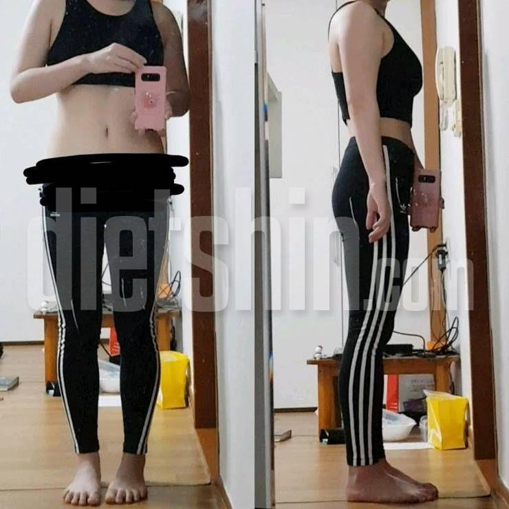한달만에 9kg 뺀 20대 다이어터의 비포애프터!