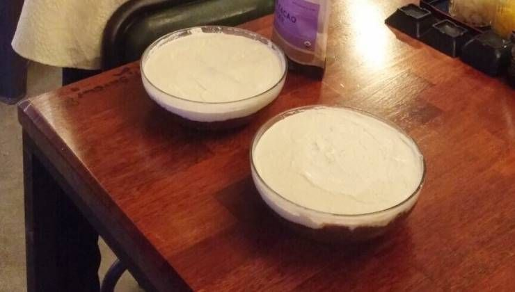 버터, 우유, 계란없이 만드는 로푸드 `티라미수`!