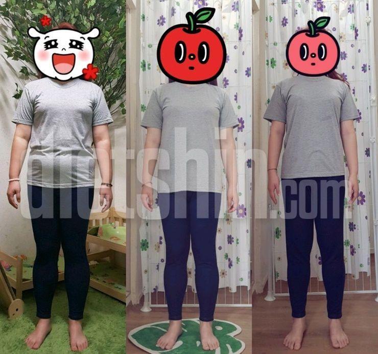 80kg대→60kg대로, 피땀흘린 다이어트 성공기!