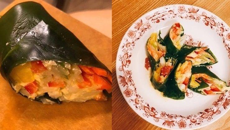 해조류 영양 듬뿍 담은 다시마롤!