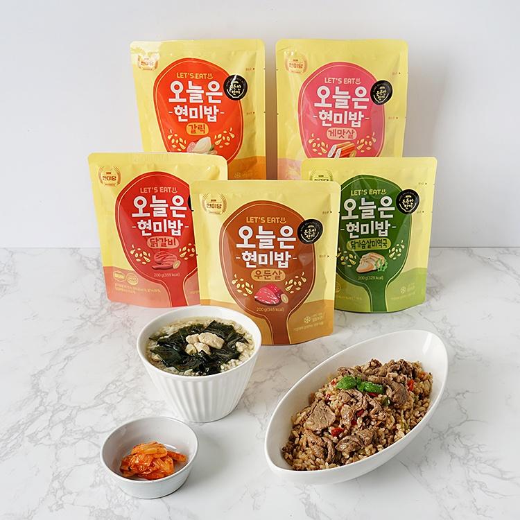 오늘은현미밥 체험단 발표