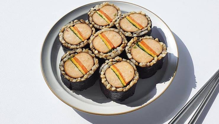 닭가슴살 질렸을때? 닭가슴살 소시지 햄버거 김밥!