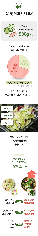 하루한끼 샐러드 체험단 모집 (02.27~03.06)