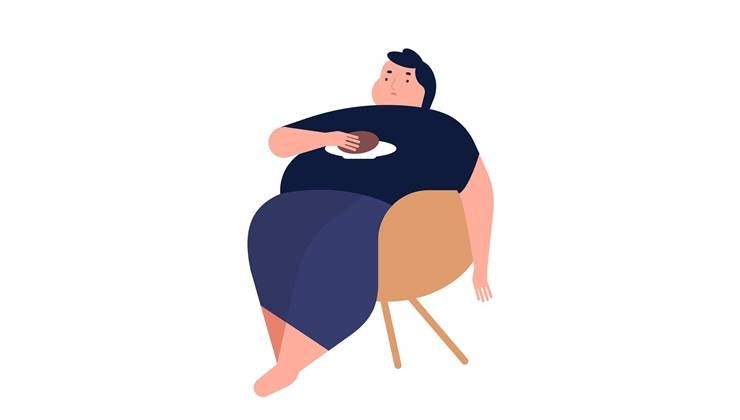 살찐사람이 식욕 억제 호르몬 더 많다?