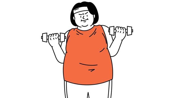 요요없는 다이어트 위한 체중감량 목표는?!
