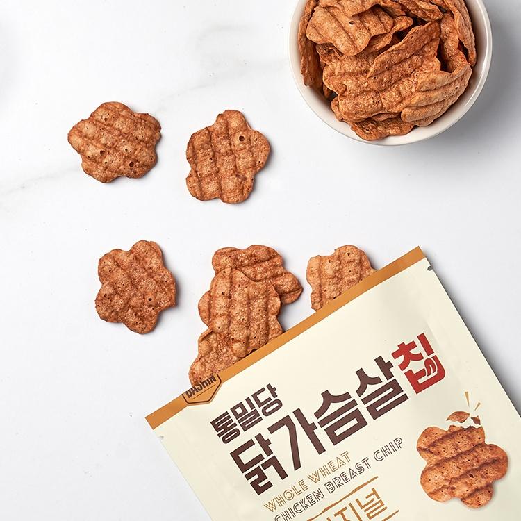 통밀당 닭가슴살 칩 체험단 모집 (06.29~07.09)