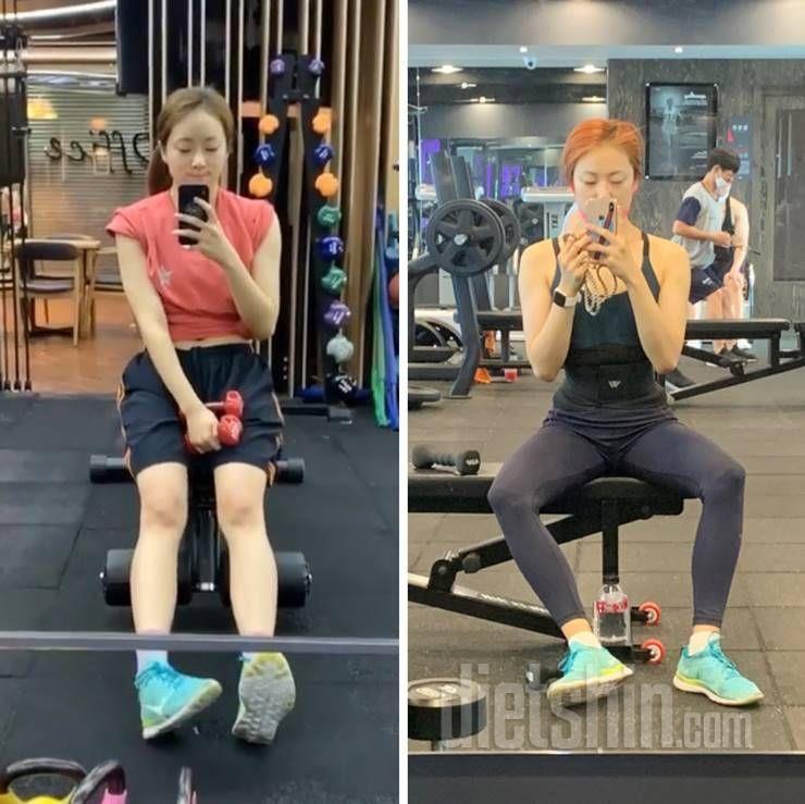 체지방 4kg 감량한 '몸짱 다이어터'의 몸매 가꾸는 비결!