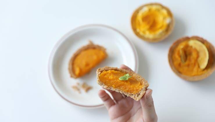 설탕없이도 달콤한 `단호박 타르트` !