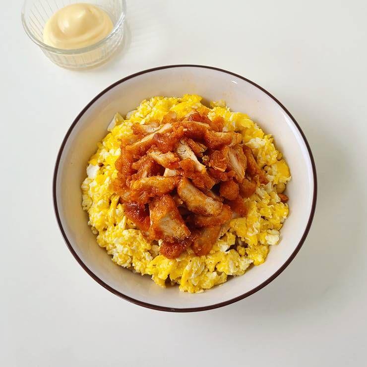 단짠단짠의 매력적인 맛! `치킨마요덮밥`!