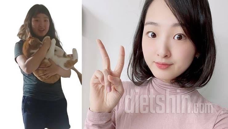 12kg 감량한 배우 지망생의 다이어트 변천사!