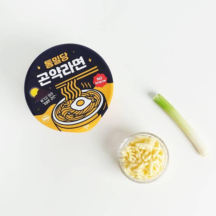 곤약라면으로 만든 백종원표 치즈라면전!
