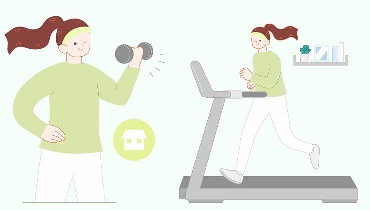 당신의 홈 트레이닝,운동효과 2배 높이는 팁!