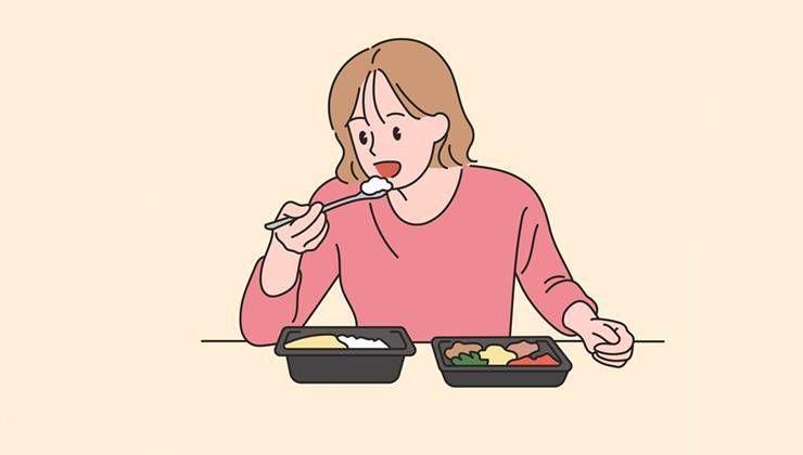 다이어트할 때, 점점 음식에 집착하게 된다면?