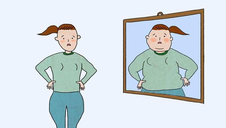 살 빠진 내 모습 상상만해도, 다이어트가 된다?