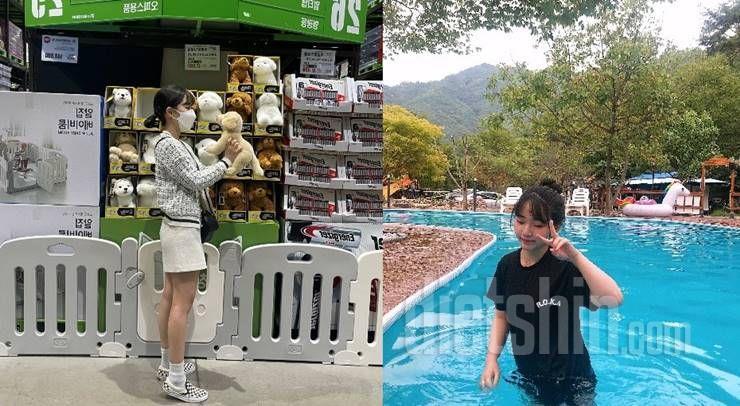 56kg→44kg, '헬스'로 4달만에 -12kg뺀 그녀의 운동법,식단 대공개!