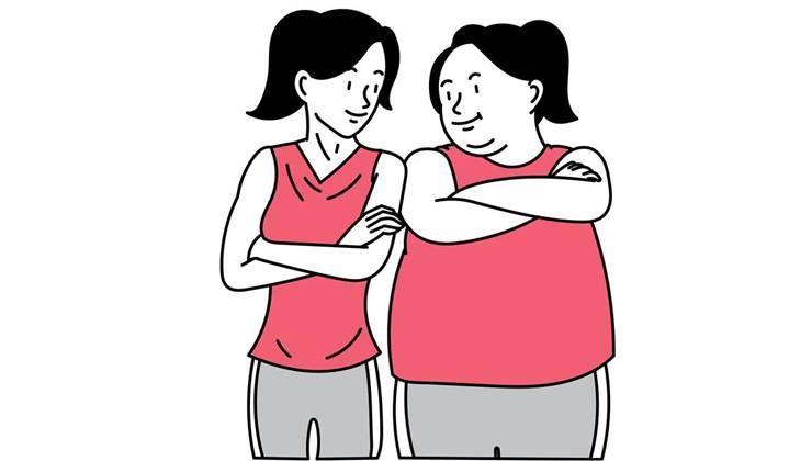 다이어터라면 알아둬야 할, 살 찌는 방식 VS 살 빠지는 방식?