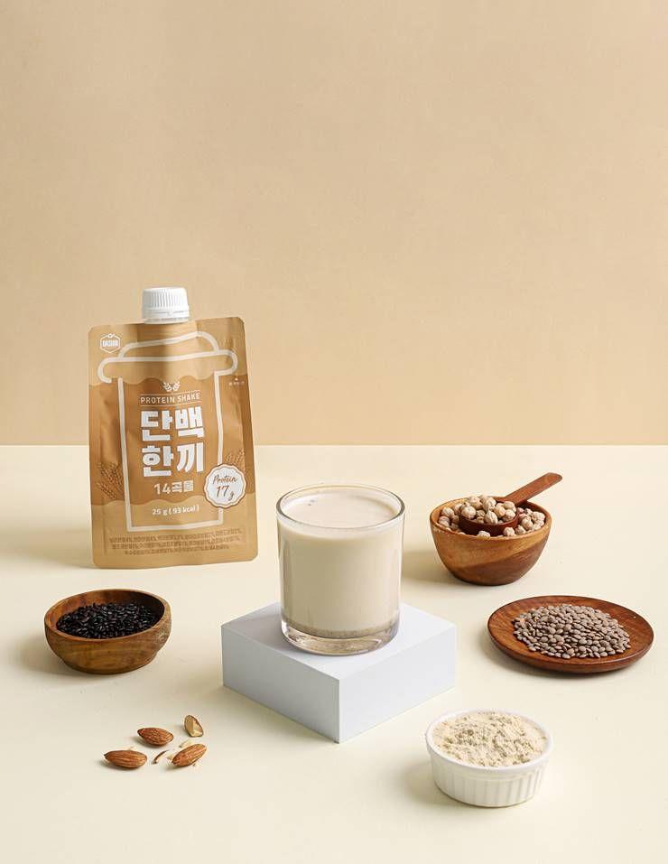 단백질도 가볍게? 한끼 포만감 주는 `마시는 곡물`!