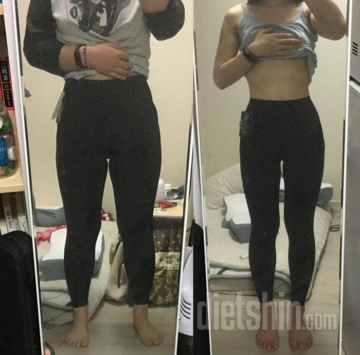 24kg 감량, 4달만에 고도비만 탈출한 그녀의 비포앤애프터?!