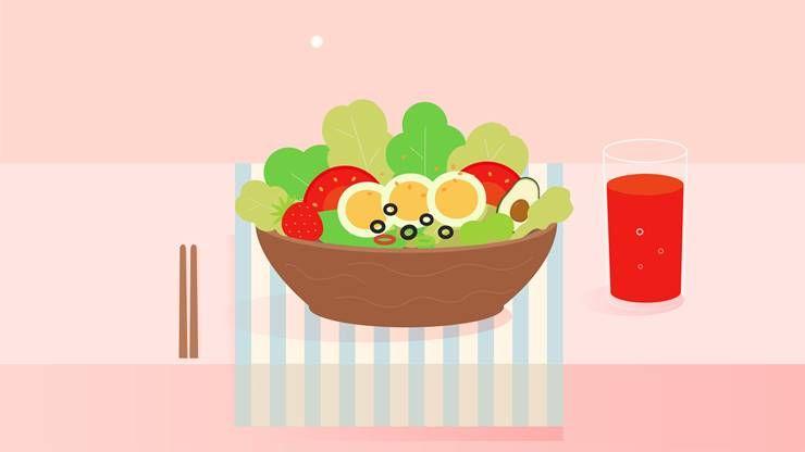 매일 샐러드 챙겨먹으면, 내 몸에 나타나는 5가지 변화!