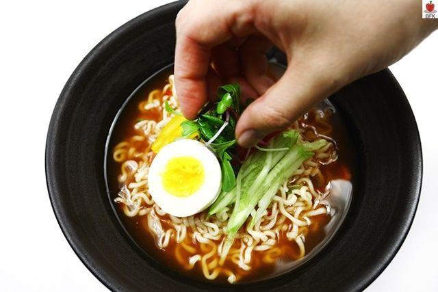 칼로리 낮춘 다이어트 냉라면 레시피